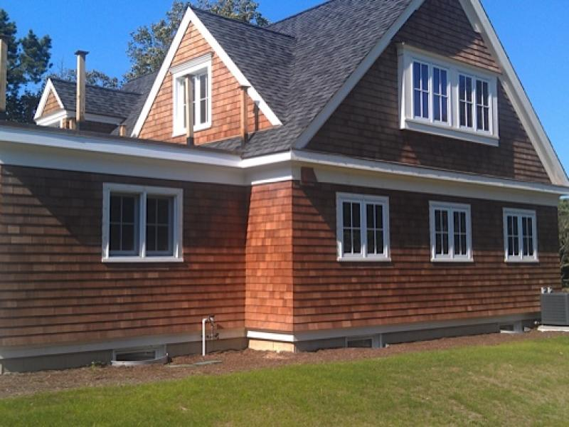 Nantucket Dormer on Cape Style Home