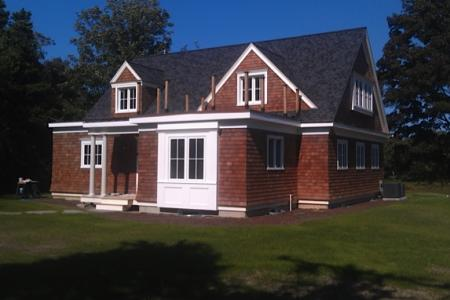 Exterior Front, Cape style home, Orleans