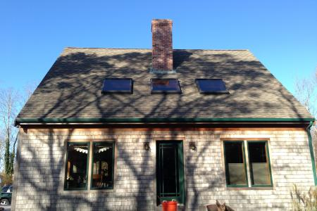 Southern Exposure for Passive Solar, Cape Cod Construction